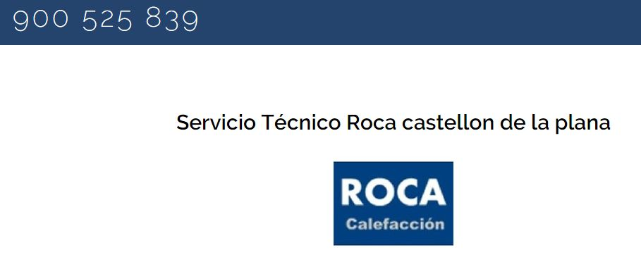 Serviciotecnico roca castellon for Servicio tecnico oficial roca